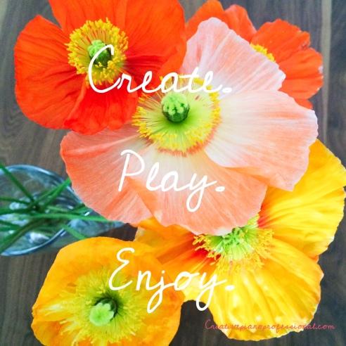 Create play enjoy