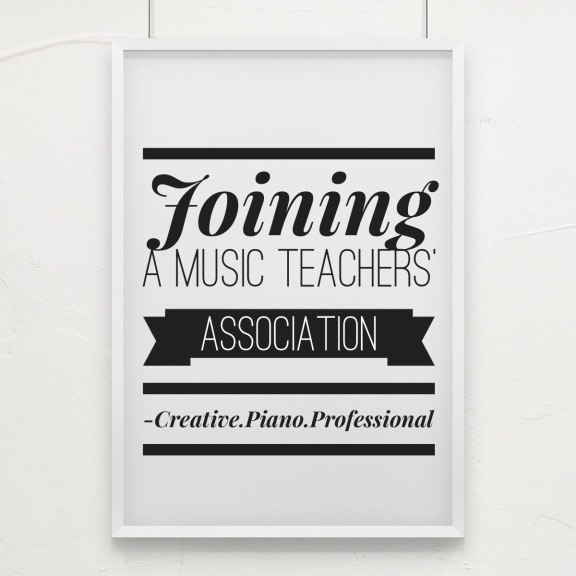 Joining a Music Teachers' Association
